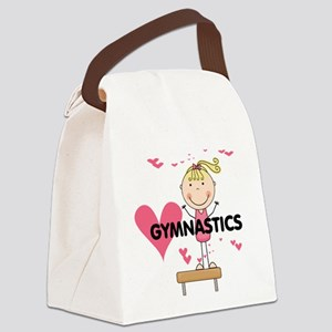 GYMNASTICSFIVE Canvas Lunch Bag