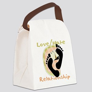scalelovehaterelationship Canvas Lunch Bag
