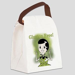 GIRLGLUTTONFREE Canvas Lunch Bag