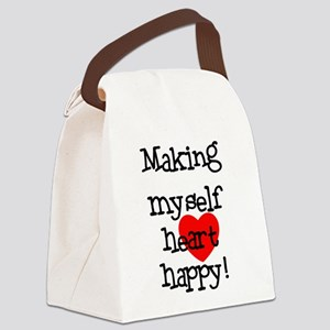 MAKINGHEARTHAPPY Canvas Lunch Bag