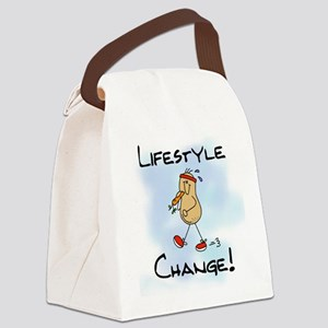 PEANUTLFIESTYLE Canvas Lunch Bag