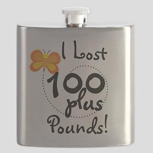 BUTFLY100plusPOUNDS Flask