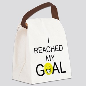 REACHEDMYGOAL Canvas Lunch Bag