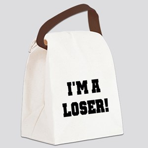 IMALOSERBLACK Canvas Lunch Bag