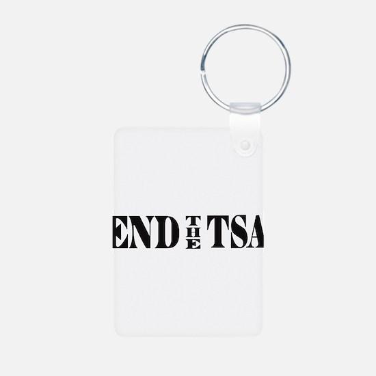 END THE TSA Keychains