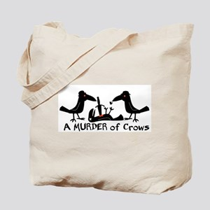 A Murder of Crows Tote Bag