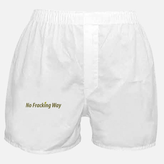 no_fracking_way_green.png Boxer Shorts