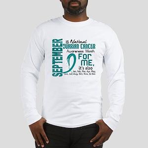Ovarian Cancer Awareness Month Long Sleeve T-Shirt