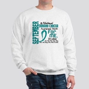 Ovarian Cancer Awareness Month Sweatshirt