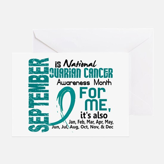 Ovarian Cancer Awareness Month Greeting Card