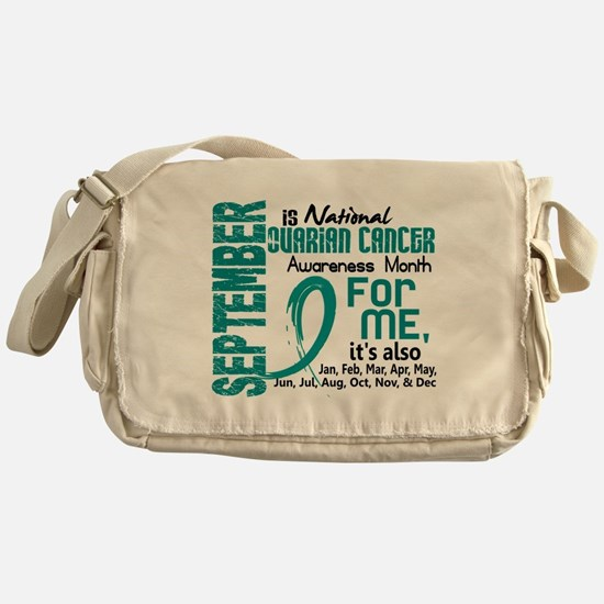 Ovarian Cancer Awareness Month Messenger Bag