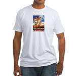 Zionist Film Fitted T-Shirt