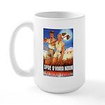 Zionist Film Large Mug