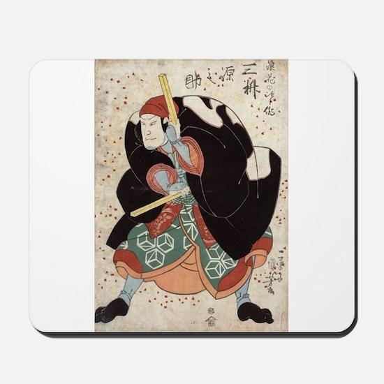 Naniwa Jirosaku - Kuniyoshi Utagawa - 1830 Mousepa