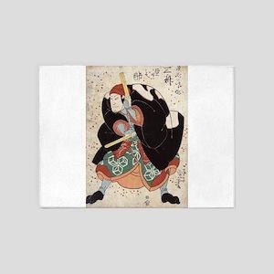 Naniwa Jirosaku - Kuniyoshi Utagawa - 1830 5'x7'Ar