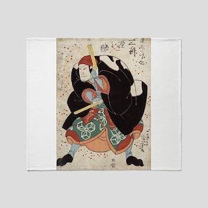 Naniwa Jirosaku - Kuniyoshi Utagawa - 1830 Throw B