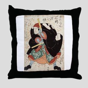 Naniwa Jirosaku - Kuniyoshi Utagawa - 1830 Throw P