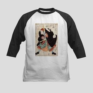 Naniwa Jirosaku - Kuniyoshi Utagawa - 1830 Basebal