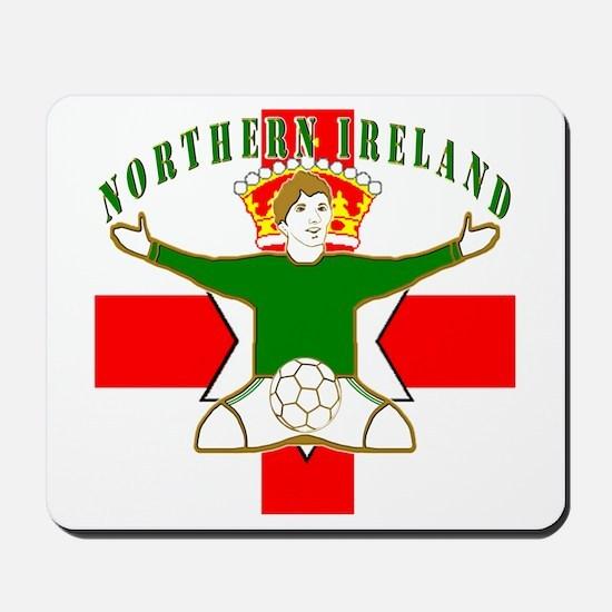 Northern Ireland Football Celebration Mousepad