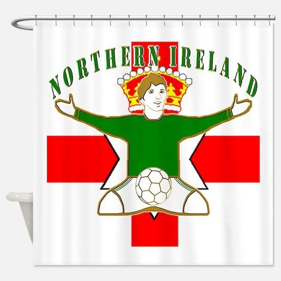 Northern Ireland Football Celebration Shower Curta