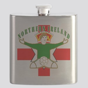 Northern Ireland Football Celebration Flask
