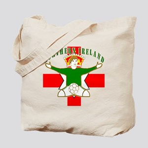 Northern Ireland Football Celebration Tote Bag