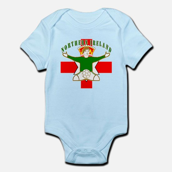 Northern Ireland Football Celebration Infant Bodys