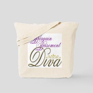 Bargain Basement Diva Tote Bag