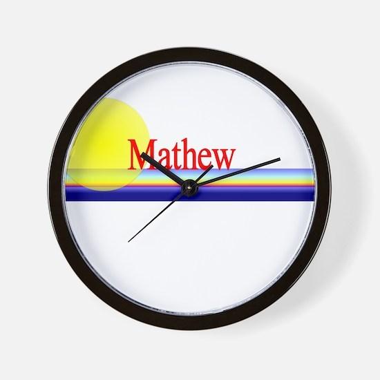 Mathew Wall Clock
