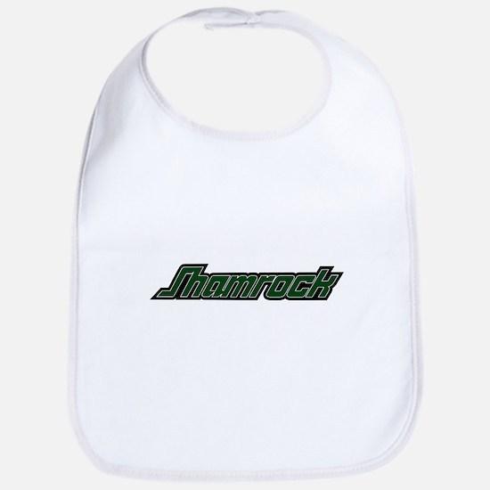 SHAMROCK LOGO 3 GREEN Bib