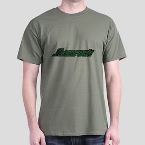 SHAMROCK LOGO 3 GREEN Dark T-Shirt