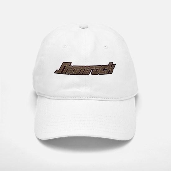SHAMROCK LOGO 3 BURGUNDY Baseball Baseball Cap