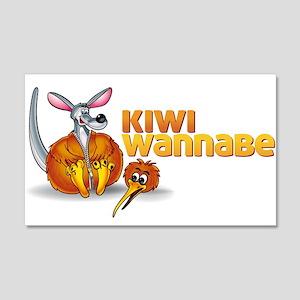 Kiwi Wannabe 2 20x12 Wall Decal
