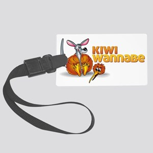 Kiwi Wannabe 2 Large Luggage Tag