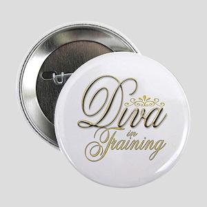 Diva in Training Button