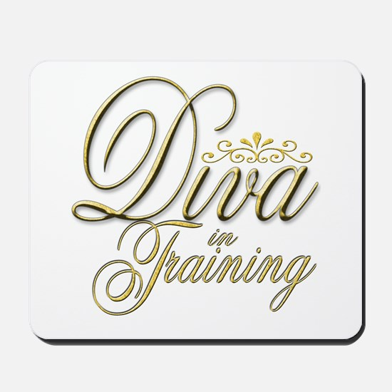Diva in Training Mousepad