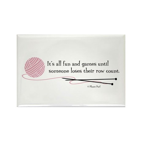 """Fun and Games"" Rectangle Magnet (100 pack)"