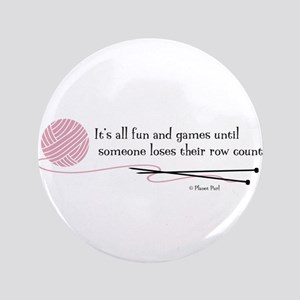 """Fun and Games"" 3.5"" Button"