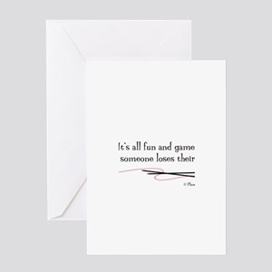 """Fun and Games"" Greeting Card"
