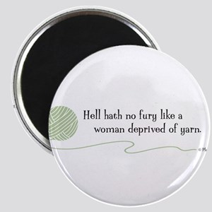 """Hell Hath No Fury"" Magnet"