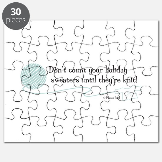 """""""Holiday Sweaters"""" Puzzle"""