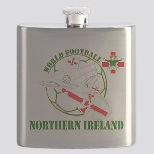 Northern Ireland World Football Flask