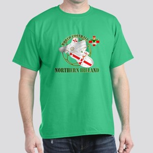 Northern Ireland World Football Dark T-Shirt