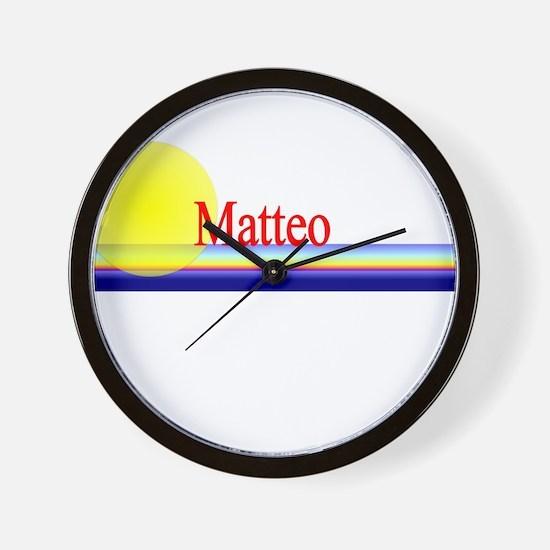 Matteo Wall Clock
