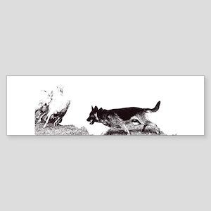 Herding Dog Sticker (Bumper)