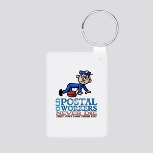 Postal Aluminum Photo Keychain