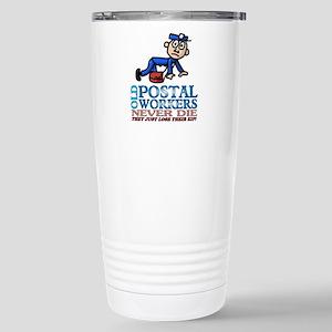 Postal Stainless Steel Travel Mug