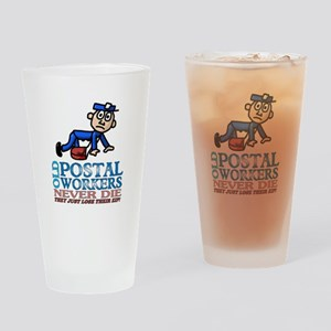Postal Drinking Glass