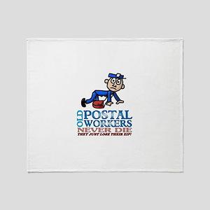 Postal Throw Blanket