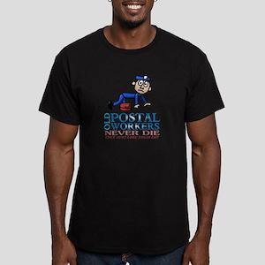 Postal Men's Fitted T-Shirt (dark)